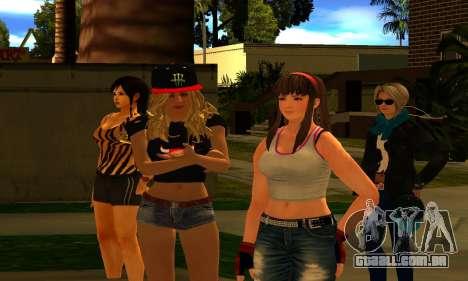 Womens Mega Pack by 7 Pack para GTA San Andreas terceira tela