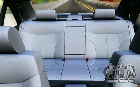 Mercedes-Benz W140 para GTA San Andreas vista superior