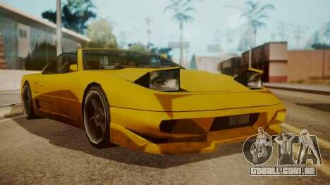 Better Super GT para GTA San Andreas traseira esquerda vista