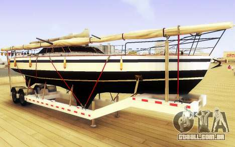 GTA V Grande Reboque do Barco para GTA San Andreas