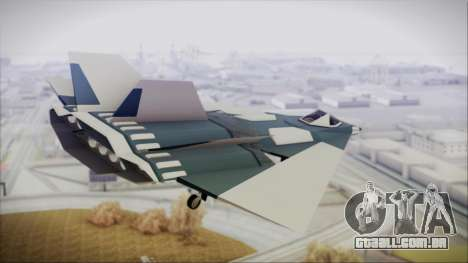Chuckup BlackBird para GTA San Andreas esquerda vista