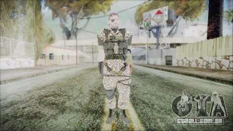 MGSV Phantom Pain Snake Normal Wetwork para GTA San Andreas segunda tela