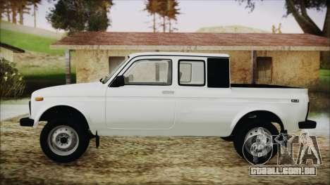 VAZ 2329 Niva 4x4 para GTA San Andreas traseira esquerda vista