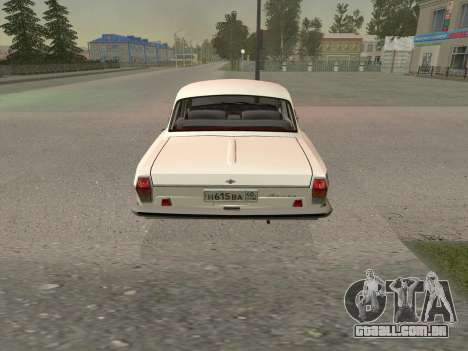 GÁS 24 BQ para GTA San Andreas vista direita