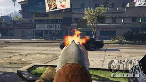 Remington 870e para GTA 5