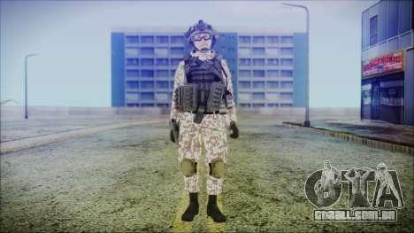 Bundeswehr Desert v2 para GTA San Andreas segunda tela