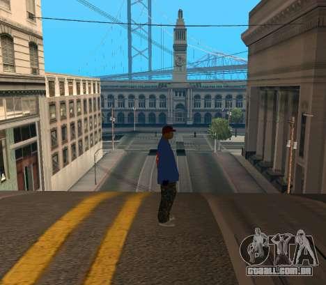 Super Emmet para GTA San Andreas segunda tela