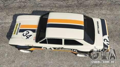 GTA 5 Ford Escort MK1 v1.1 [Carrillo] voltar vista