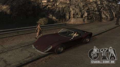 GTA V Stinger Classic para GTA 4 esquerda vista