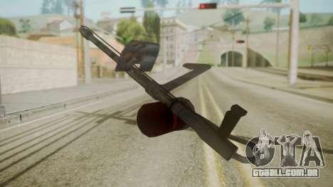 GTA 5 Flame Thrower para GTA San Andreas segunda tela