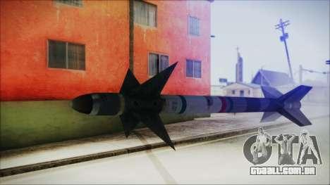 AIM9 Missile para GTA San Andreas