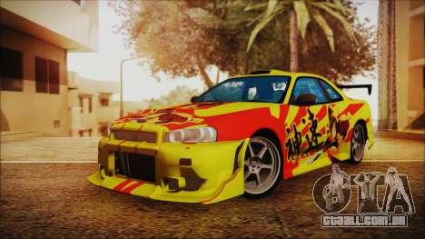 Nissan Skyline Street Racing Syndicate para GTA San Andreas
