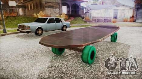Giant Skateboard para GTA San Andreas