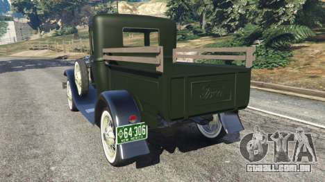 Ford Model A Pick-up 1930 para GTA 5