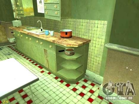 Apartamento de GTA IV para GTA San Andreas décimo tela