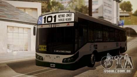 Todo Bus Agrale MT17.0LE AA para GTA San Andreas