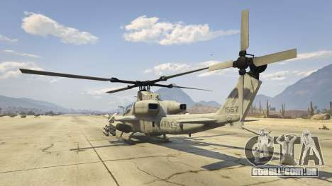 GTA 5 AH-1Z Viper quarto screenshot