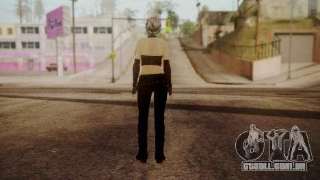 Jennifer para GTA San Andreas terceira tela