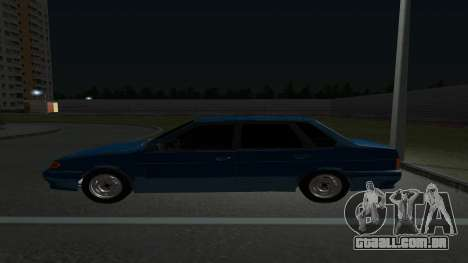 VAZ 21099 para GTA San Andreas vista traseira