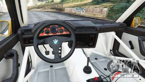 GTA 5 BMW M3 (E30) 1991 [Mingelo] v1.2 vista lateral direita