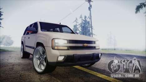 Chevrolet Triblazer para GTA San Andreas