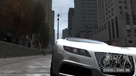 Adder HQ from GTA 5 para GTA 4 vista de volta