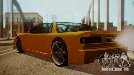Better Super GT para GTA San Andreas esquerda vista