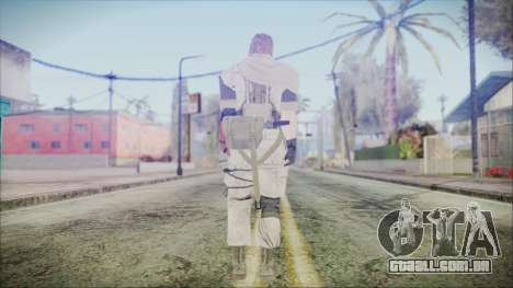 MGSV Phantom Pain Snake Scarf Desert para GTA San Andreas terceira tela