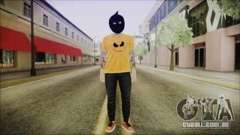 DLC Halloween GTA 5 Skin 3 para GTA San Andreas segunda tela