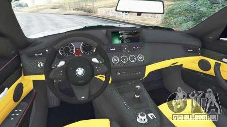 BMW Z4 sDrive28i 2012 para GTA 5