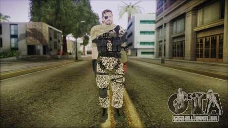 MGSV Phantom Pain Snake Scarf Animals para GTA San Andreas segunda tela