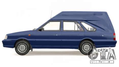 Daewoo-FSO Polonez Cargo Van Plus 1999 para GTA 4 vista lateral