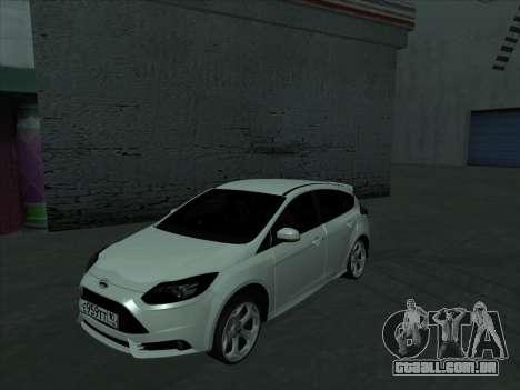 Ford Focus ST barbatana para GTA San Andreas