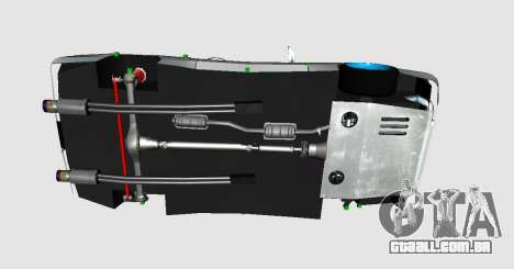 Elegy DRIFT KING GT-1 para GTA San Andreas vista direita