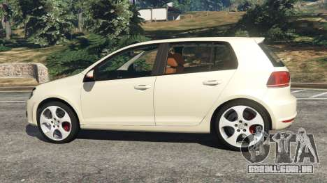 Volkswagen Golf Mk6 v2.0 [Stripes] para GTA 5