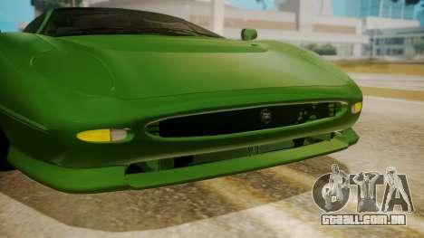 Jaguar XJ220 1992 FIV АПП para GTA San Andreas vista interior