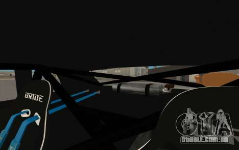 Elegy DRIFT KING GT-1 para GTA San Andreas vista interior