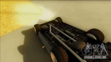 Sabre Race Edition para vista lateral GTA San Andreas
