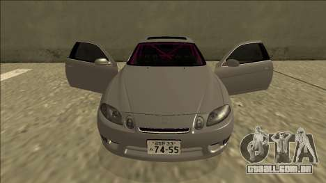 Lexus SC 300 Drift para GTA San Andreas vista superior