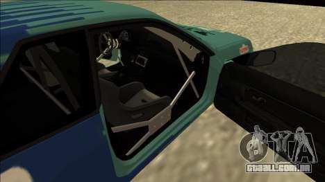 Nissan Skyline R32 Drift Falken para GTA San Andreas vista traseira