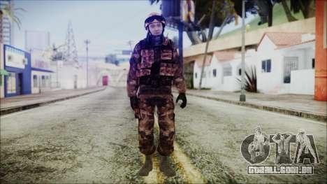 Chinese Army Desert Camo 2 para GTA San Andreas segunda tela