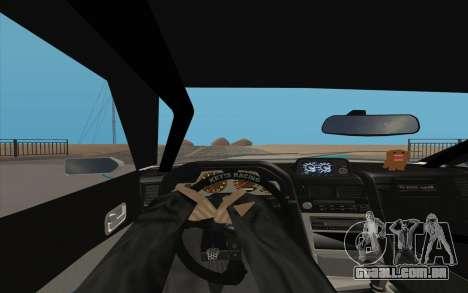 Elegy DRIFT KING GT-1 para GTA San Andreas vista traseira