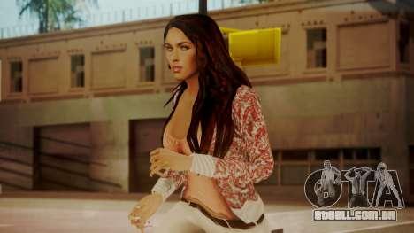 Megan Fox para GTA San Andreas