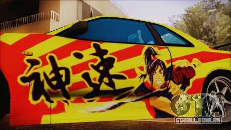 Nissan Skyline Street Racing Syndicate para GTA San Andreas vista direita