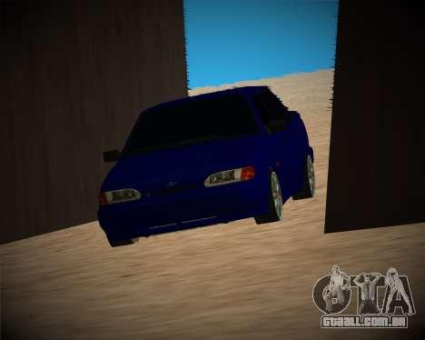 VAZ-2115 para GTA San Andreas vista inferior