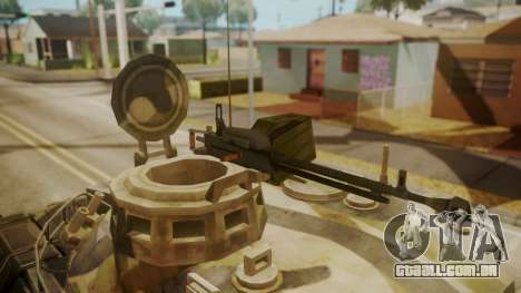 AMX 30 from Mercenaries 2 World in Flames para GTA San Andreas vista traseira