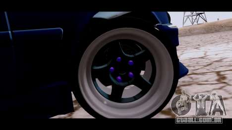 Toyota Chaser Tourer para GTA San Andreas traseira esquerda vista