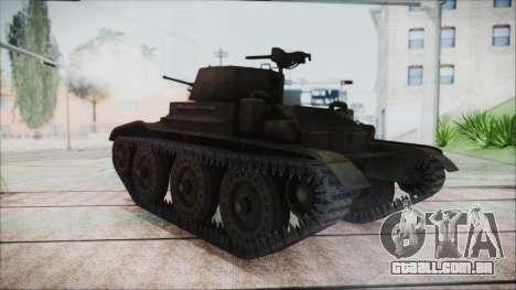 T7 Combat Car para GTA San Andreas esquerda vista