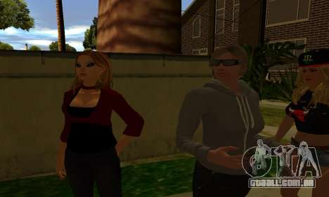 Womens Mega Pack by 7 Pack para GTA San Andreas sexta tela