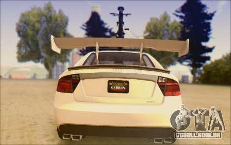 Obey Tailgater Special Tuning para GTA San Andreas vista direita